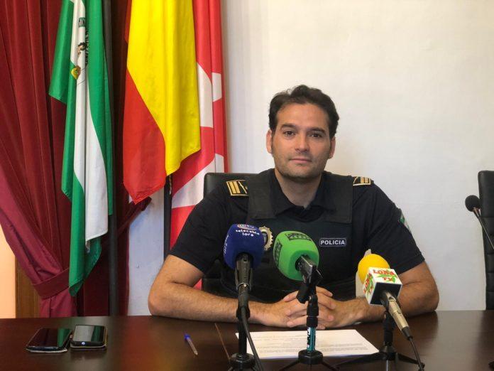 El subinspector-jefe de la Policía Local de Lora del Río