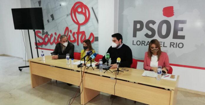 Rueda de Prensa PSOE Lora del Río