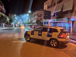 Actuación de la Policía Local de Lora del Río