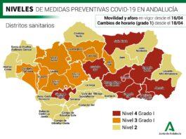 La Junta de Andalucía sitúa a toda la provincia de Sevilla en el nivel de alerta 3 grado 1