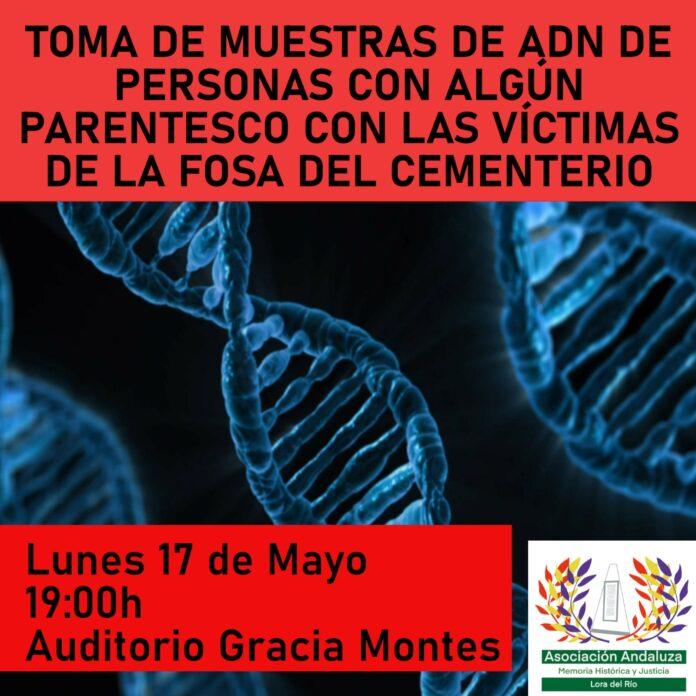 Información importante para todos los familiares de las víctimas de la represión franquista de la fosa del cementerio de Lora del Río