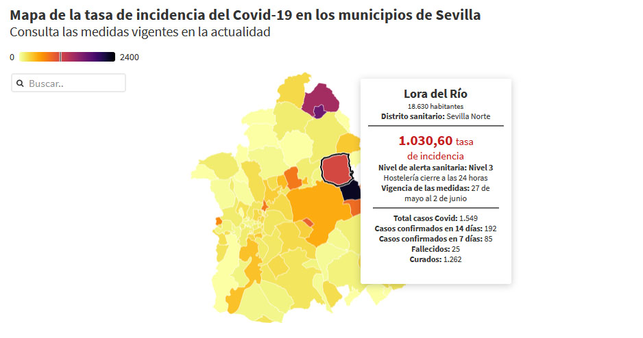 casoscovid 260521 loradelrio