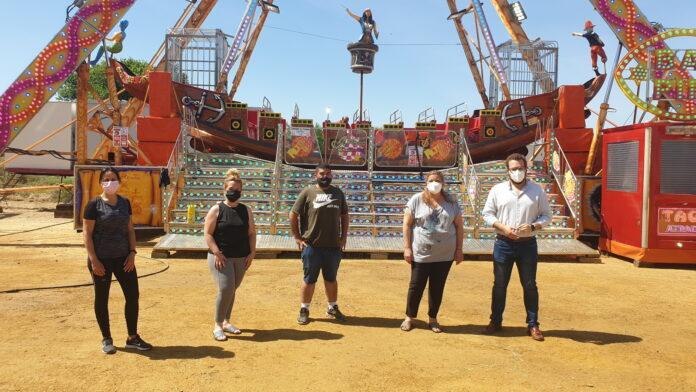 'Vive Park' estará abierto en la Alameda del Río de Lora del Río del 21 al 30 de mayo