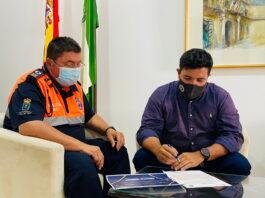 La Agrupación de Protección Civil de Lora del Río contará en 2021 con un plan de formación para los voluntarios