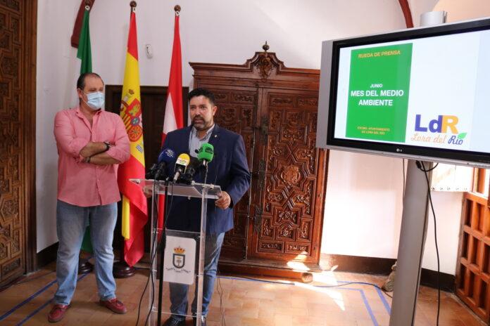 El Ayuntamiento de Lora del Río presenta las 15 medidas puestas en marcha con motivo del 'Mes del Medio Ambiente'