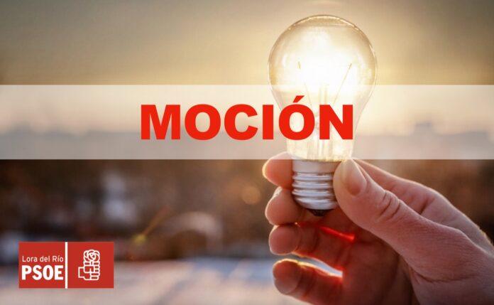 El PSOE de Lora del Río propone ayudar económicamente a los comercios, bares y empresas a pagar la factura de la luz