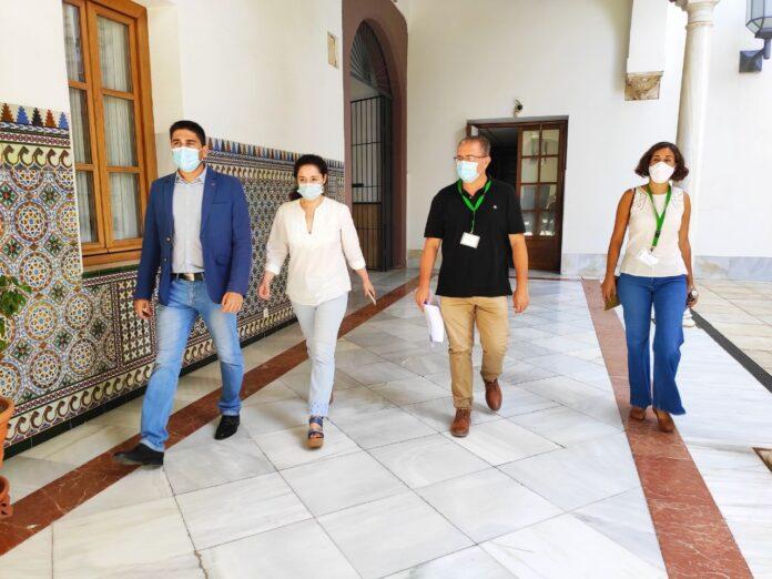 Izquierda Unida lleva al Parlamento la problemática generada por el PP de Lora del Río con Enamorado a la cabeza, sobre la ubicación de la EDAR de Setefilla