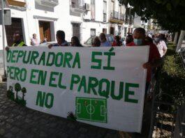Los vecinos de Setefilla siguen con las movilizaciones