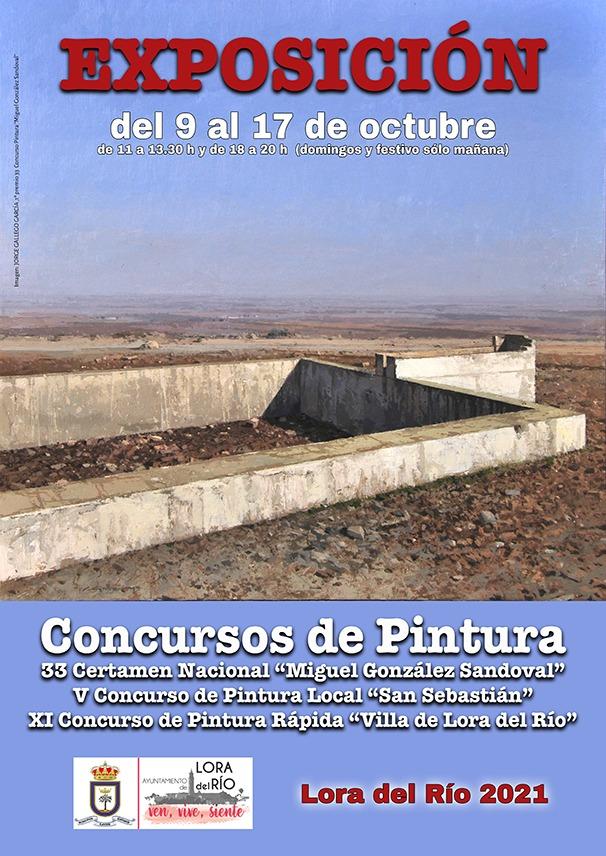 Todas las obras podrán verse podrán verse en una exposición en la Sala Municipal de El Bailío del 9 al 17 de octubre.
