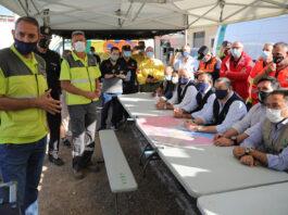 Finaliza el simulacro de inundaciones en la ribera del Guadalquivir