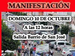 Los vecinos de Setefilla convocan una nueva manifestación