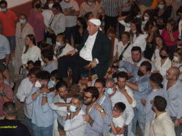 La tradición y procesión del 'Viejo' vuelve a repetirse en la tarde del viernes 22 de octubre en Lora del Río
