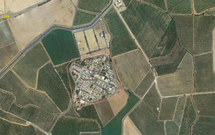 Vista aérea de Setefilla